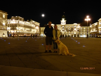 PiazzaDell'UnitieD'ItaliaBy NightTrieste