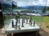 ChessSetSculptureLakeBled