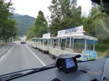 OurFirstTrainOvertake!Trentino