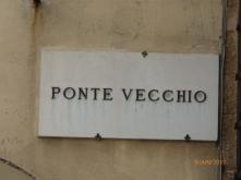 PonteVecchioNamePlateFirenze
