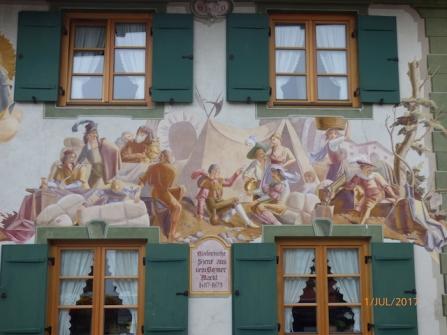 InterestingScene.Mittenwald.Bavaria