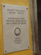 MozartMuseumPlaque.Salzburg