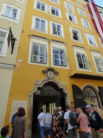 Mozart'sBirthplace.Salzburg