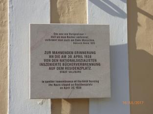 NaziBookBurningMemorial.Salzburg