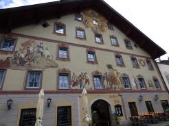 OrnateGasthof.Mittenwald.Bavaria